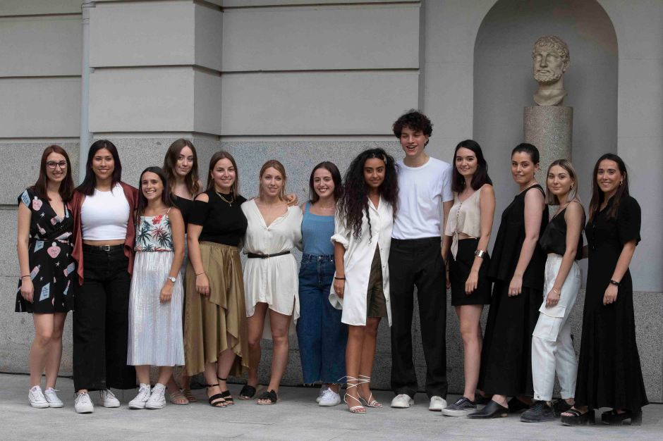 ESNE show during the Mercedes Benz Fashion Week Madrid Off at th
