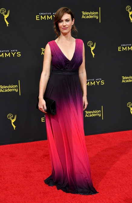 Mandatory Credit: Photo by Rob Latour/Shutterstock (10413442ac) Maggie Siff 71st Annual Primetime Creative Arts Emmy Awards, Day 2, Arrivals, Microsoft Theater, Los Angeles, USA - 15 Sep 2019