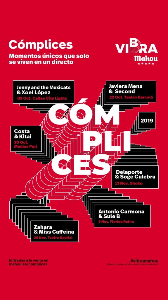CARTEL CÓMPLICES DE VIBRA MAHOU 2019[3]